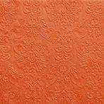 narancs dombornyomott desszert szalvéta (15 db)