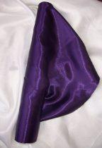 Szatén selyem sötétlila (150 cm széles)
