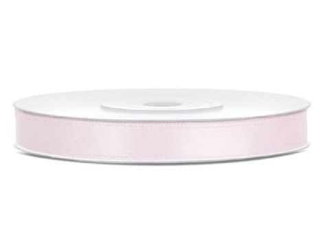 0,6 cm-s szatén szalag (25 m) púderrózsaszín (081pj)