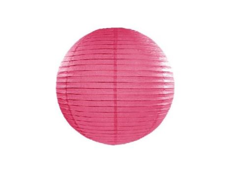 papír lampion 25 cm, pink (006)