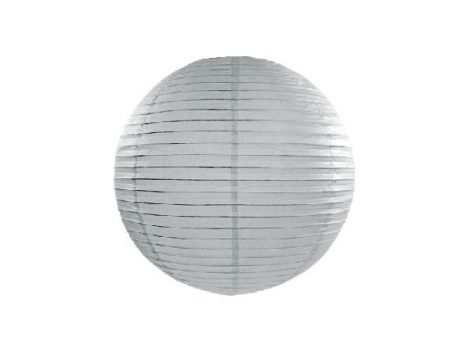 papír lampion 25 cm, szürke (091)