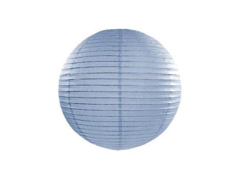papír lampion 25 cm, vintage kék (093j)