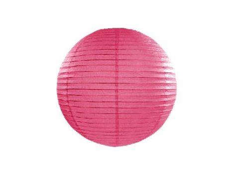 papír lampion 35 cm, pink (006)