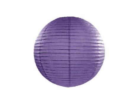 lampion gömb (40 cm) sötétlila