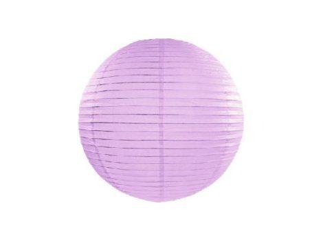 v.lila papír lampion gömb 30 cm-es