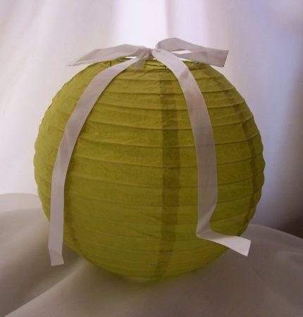 lampion gömb (30 cm) zöld