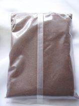 dekorhomok barna (400 gr.)- finomszemű