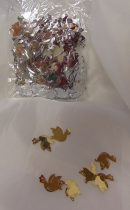 konfetti galamb ezüst (50 gr)