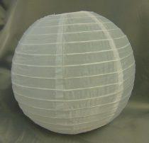 Organza lampion fehér (30 cm)