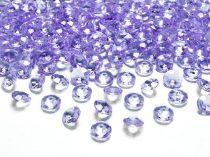 Gyémánt dekorkő vlila (100 db)-(ADC12-004), 1,2 cm