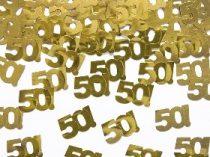 50. konfetti arany (15 gr.)