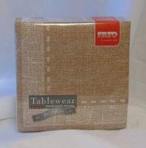 Vintage szalvéta, textil hatású 50 db (40*40)