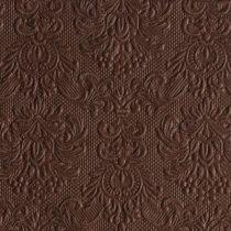 barna dombornyomott szalvéta 33x33 (15 db) AMB