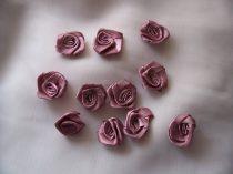 szatén rózsafej 2,5 cm-es (50 db) mályva