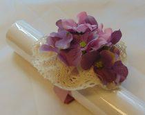Vintage csuklódísz lila