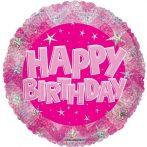 Happy Birthday! fólia lufi (60006)-45 cm