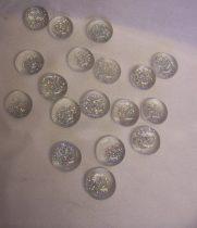 dekorkő csillámmal (2cm ), kb. 100 db