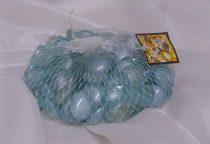 v.kék dekorkő,dekorkavics (kb.100 db-os), 2 cm