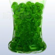 aquagyöngy, hydrogyöngy, zselégyöngy zöld