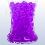 aquagyöngy, hydrogyöngy, zselégyöngy lila