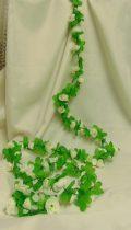 selyemvirág girland (2 m)