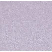lila dombornyomott szalvéta, fényes, 33x33 (16 db)-74399