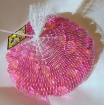 pink dekorkő,dekorkavics ( kb. 100 db), 2 cm
