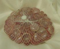 dekorkő,dekorkavics,2 cm-s ( kb. 100 db) mályva (487297)