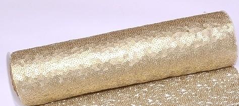 6a1710e92a Flitteres dekoranyag (25 cm * 3 m), arany-014 - esküvő dekoráció ...