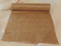 glitteres dekoranyag (28 cm * 5 m), arany-014