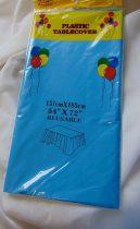 asztalterítő műanyag (137x183 cm),kék