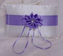 gyűrűpárna csillagvirág, lila (15x22 cm)