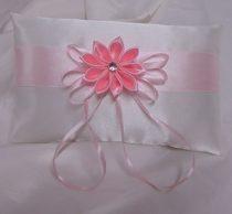 gyűrűpárna csillagvirág, rózsaszín (15x22 cm)