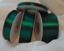Szatén szalag smaragdzöld (HS-625)-(3,8 cm * 22 m)