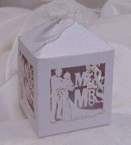 vendégajándék dobozka Mr. és Mrs.-606393