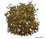 arany csillag konfetti, 5 mm (15 gr.)