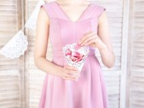 Rózsaszirom tartó tasak, 20 cm (10 db)