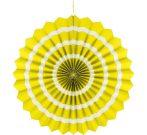 papírtárcsa sárga, 40 cm