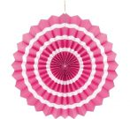 papírtárcsa pink, 40 cm