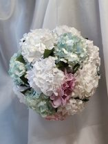 Vintage hortenzia virággömb