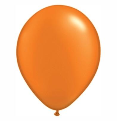 narancs 12 cm metál lufi-005