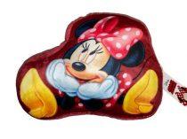 Minnie egér piros plüss formapárna