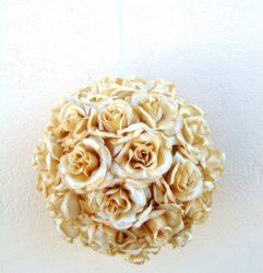 Rózsagömb (szatén)